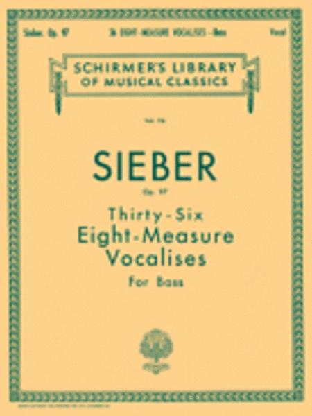 36 Eight-Measure Vocalises, Op. 97