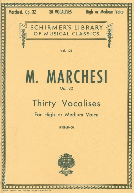 30 Vocalises, Op. 32