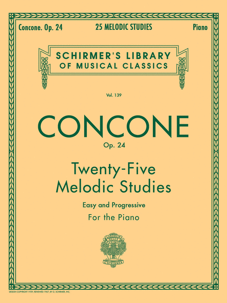 25 Melodic Studies, Op. 24