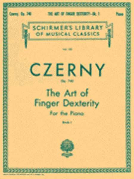 Art of Finger Dexterity, Op. 740 - Book 1