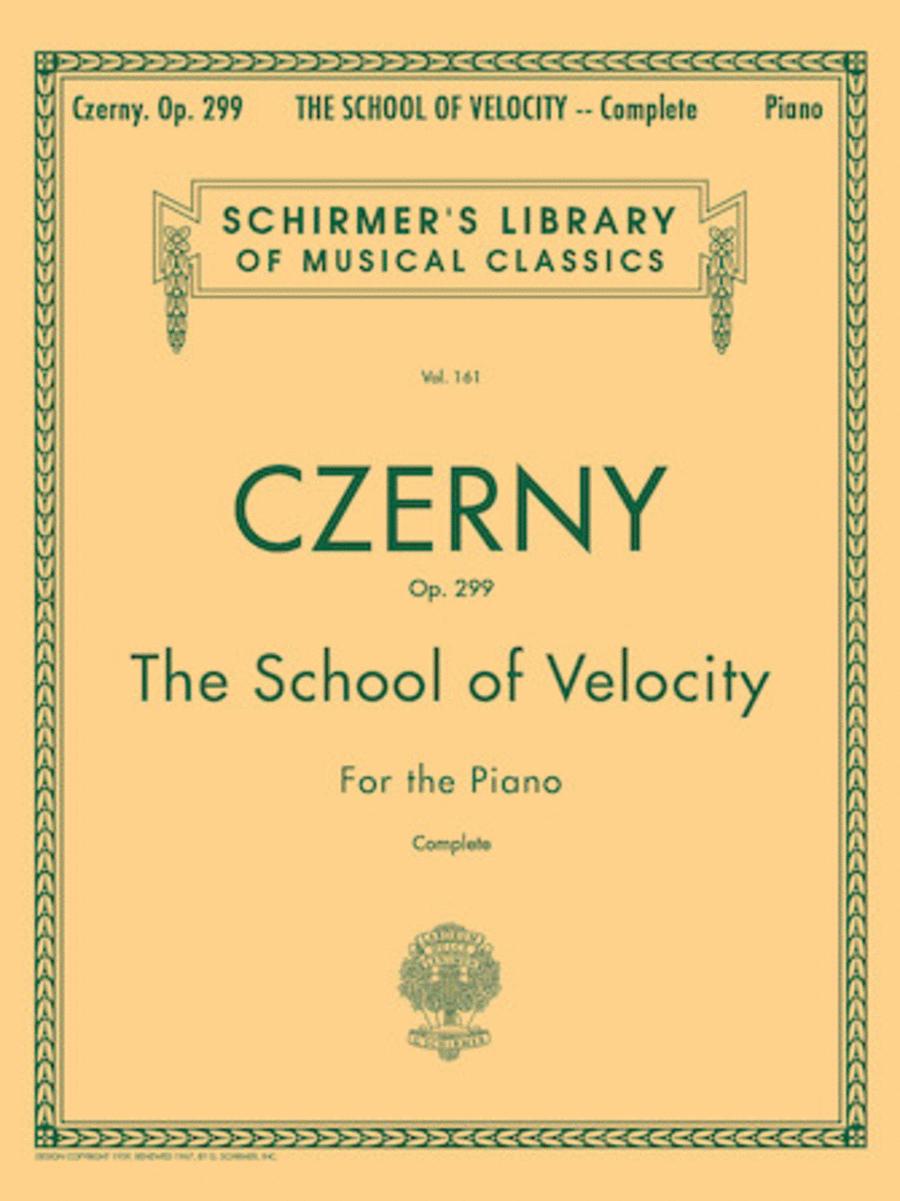 School Of Velocity, Op. 299 - Complete