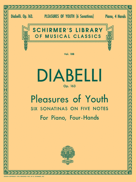 Pleasures of Youth (6 Sonatinas on 5 Notes), Op. 163