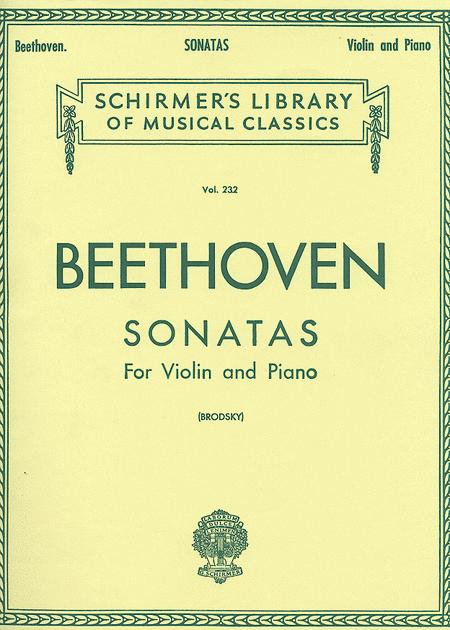 Sonatas-Complete-Piano/Violin-2 Book Set