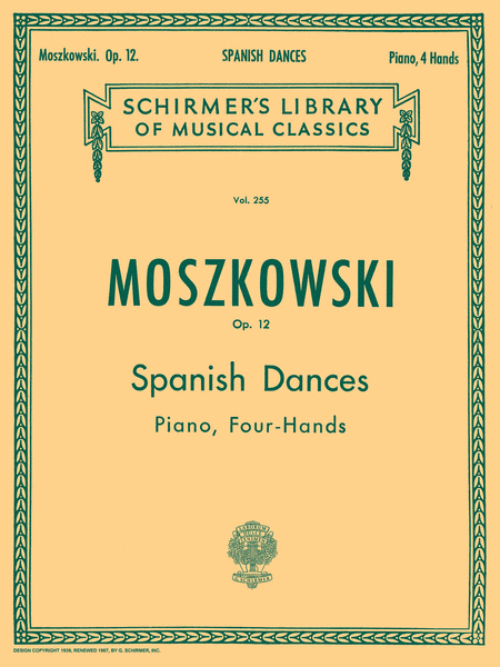 5 Spanish Dances, Op. 12