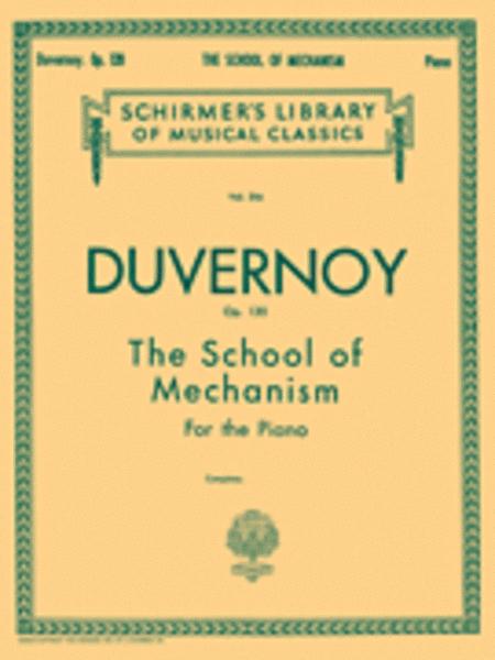School of Mechanism, Op. 120