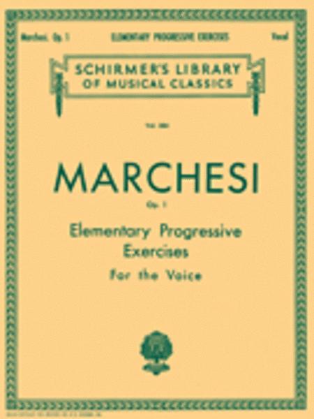 Elementary Progressive Exercises, Op. 1