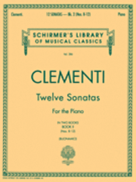 12 Sonatas - Book 2