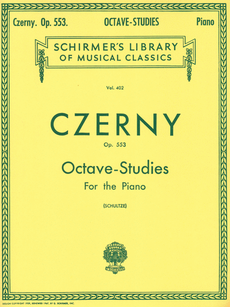 6 Octave Studies in Progressive Difficulty, Op. 553