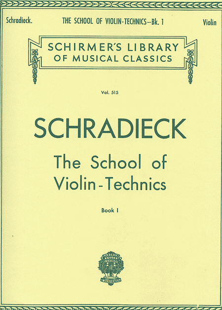 School Of Violin Technics - Book 1 For Violin