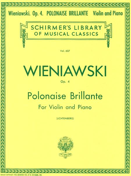 Polonaise Brillante, Op. 4