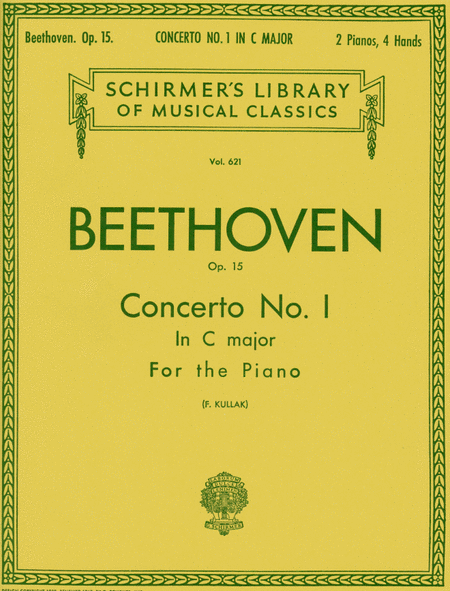 Concerto No. 1 In C Major, Op. 15 - 2 Pianos, 4 Hands