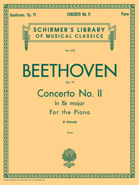 Concerto No. 2 in Bb, Op. 19
