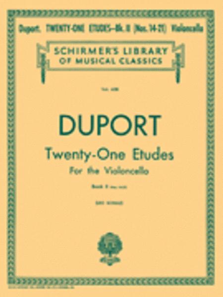 21 Etudes - Book 2
