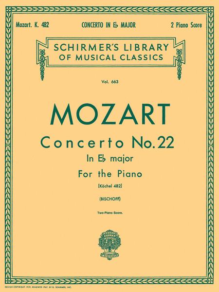 Concerto No. 22 in Eb, K.482