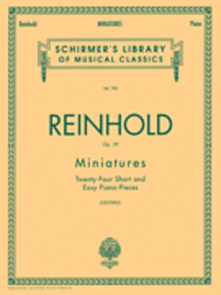 Miniatures, Op. 39