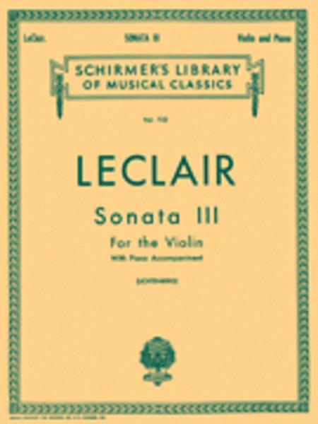 Sonata No. 3 in D