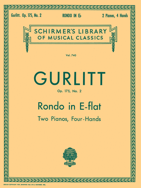 Rondo in Eb, Op. 175, No. 2 (set)