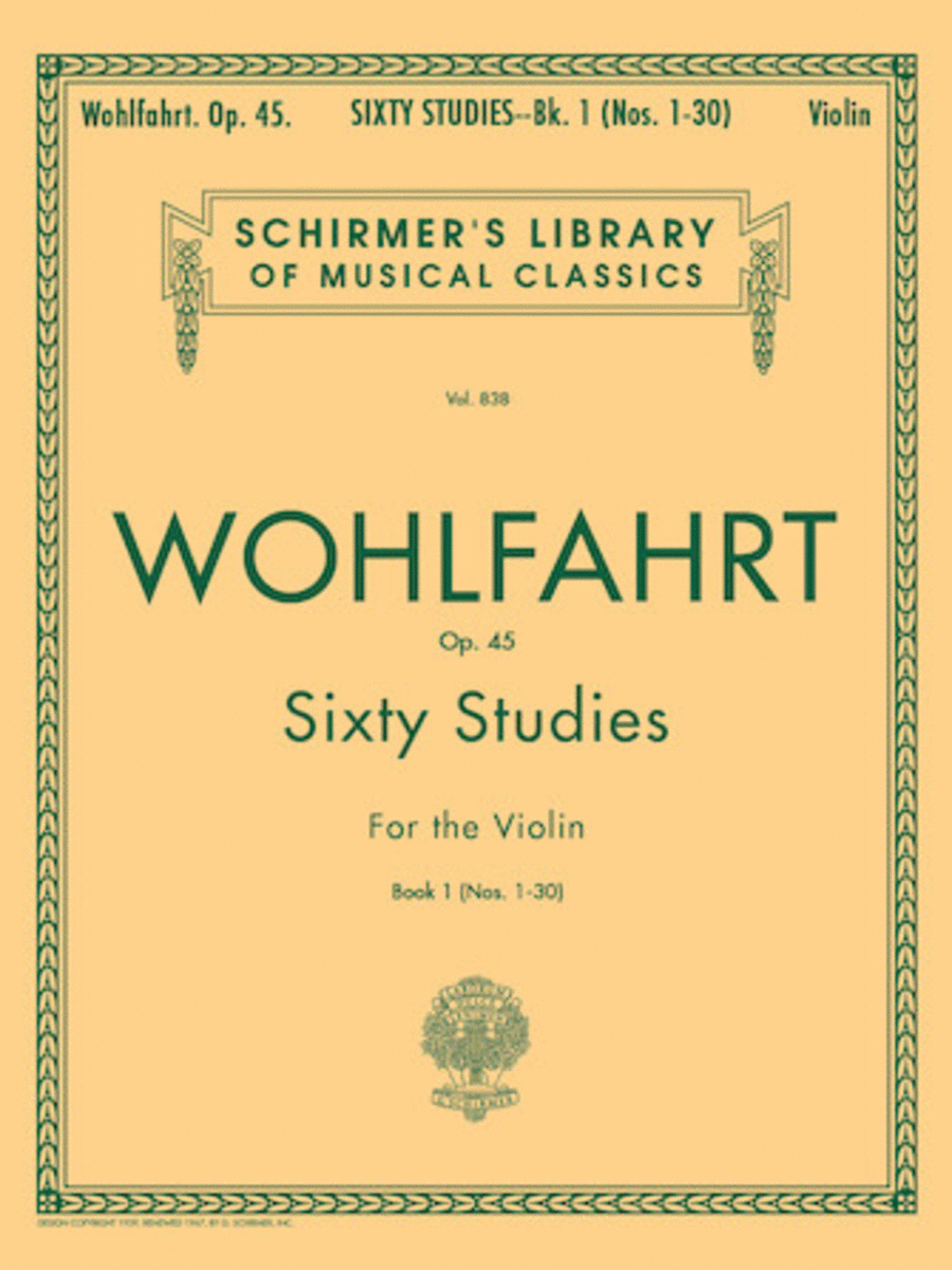60 Studies, Op. 45 - Book 1 - Nos. 1-30