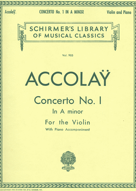 Concerto No. 1 In A Minor
