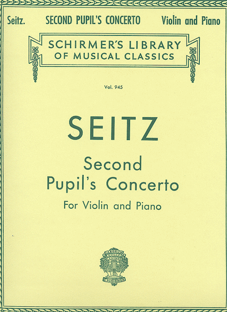 Pupil's Concerto No. 2 In G Major, Op. 13 For Violin And Piano