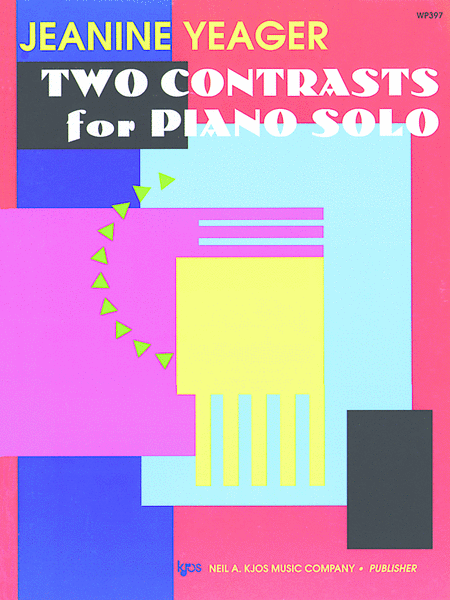 Two Contrasts For Piano Solo