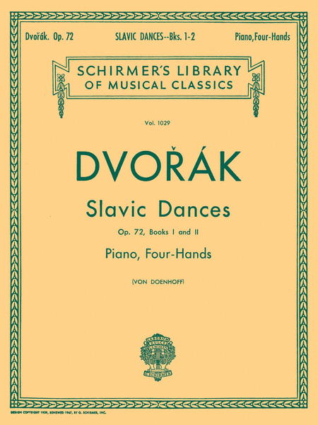 Slavonic Dances, Op. 72 - Books 1 & 2