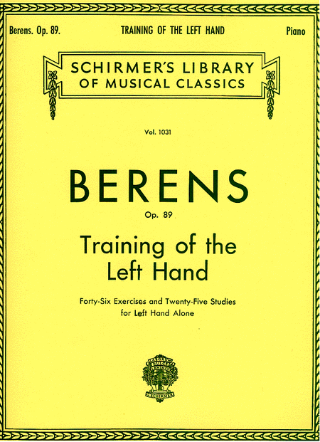 Training of the Left Hand, Op. 89