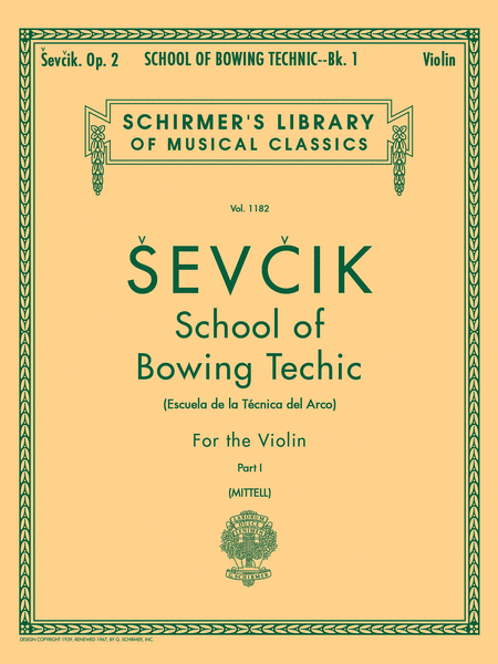 School of Bowing Technics - Book 1 (Violin)