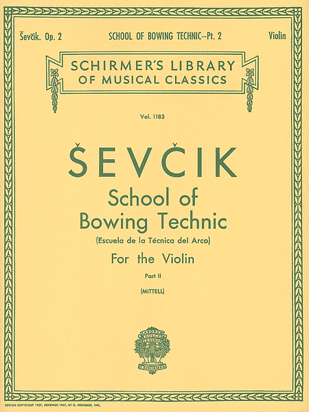 School of Bowing Technic - Part 2 (Violin)