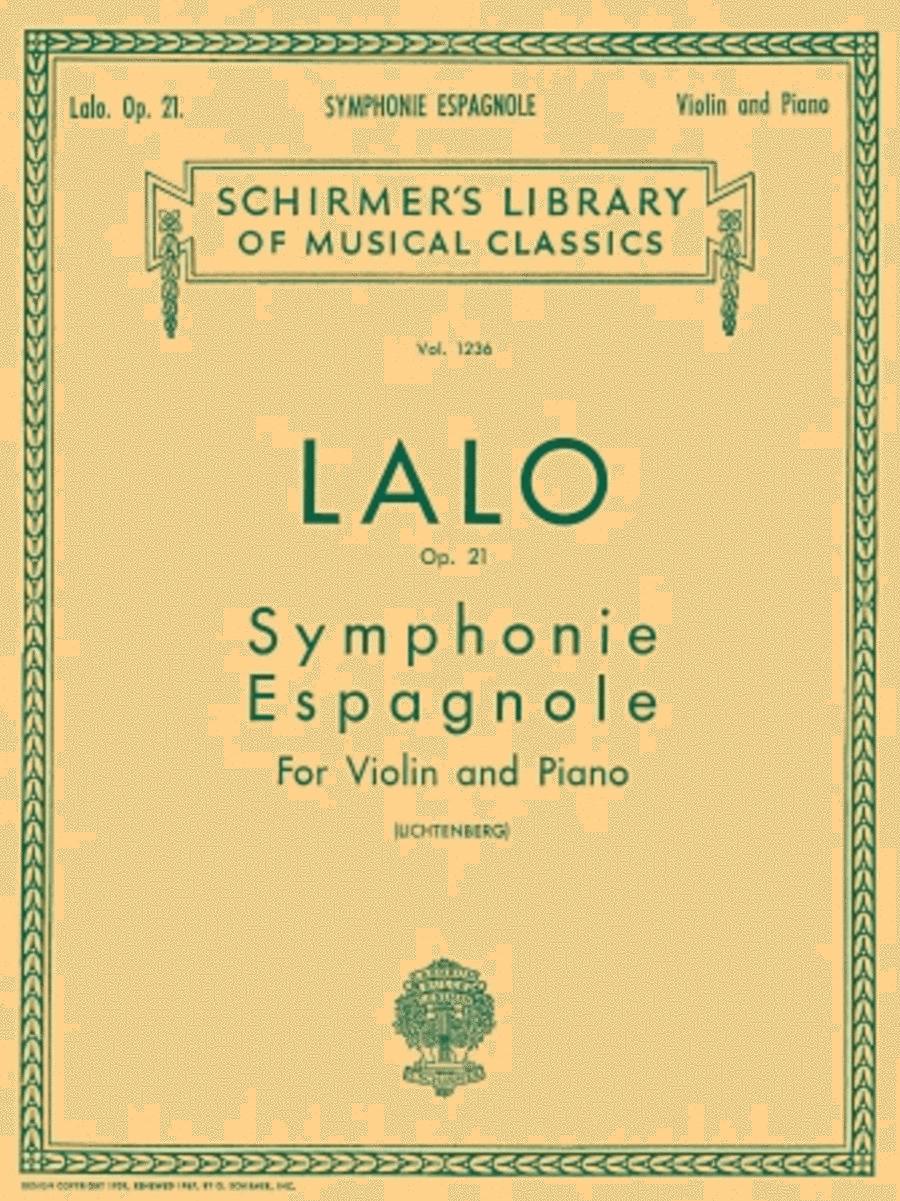Symphonie Espagnole, Op. 21 - Piano / Violin
