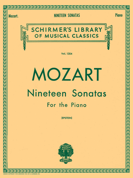 19 Sonatas For The Piano