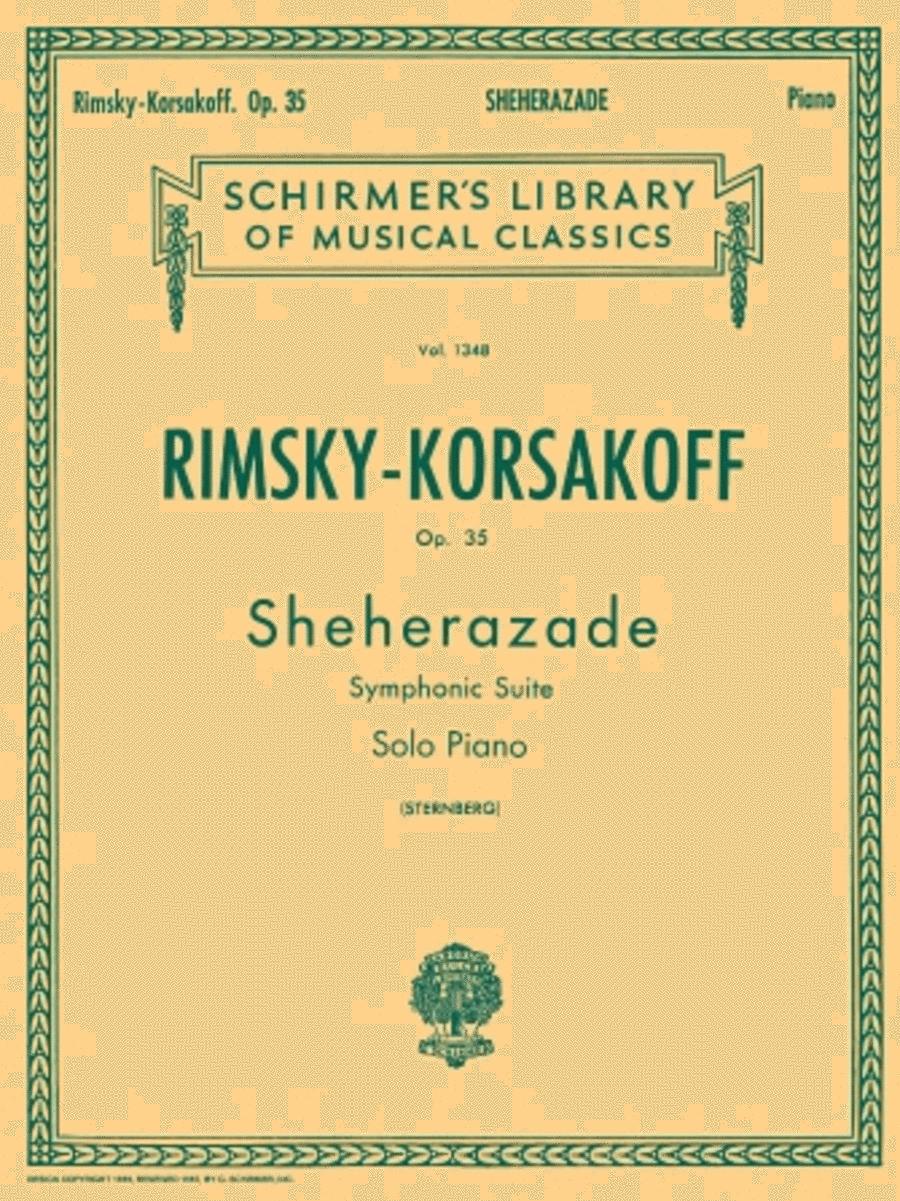Sheherazade, Op. 35 (Piano Reduction)