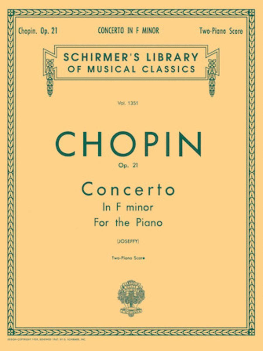 Concerto No. 2 in F Minor, Op. 21