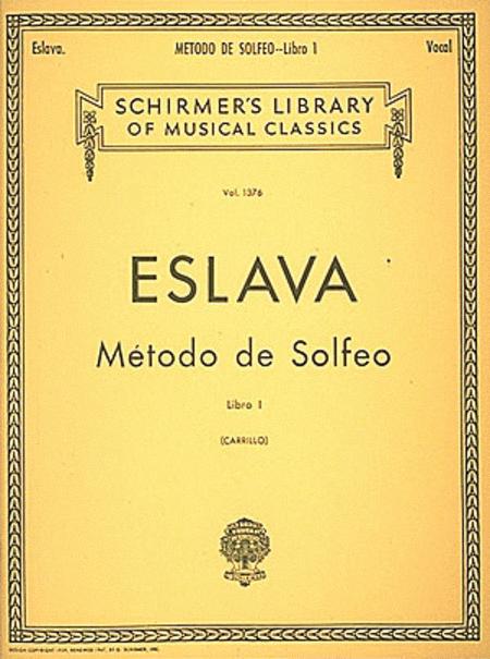 Metodo de Solfeo - Book I