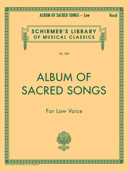 Album of Sacred Songs