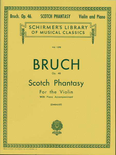 Scotch Phantasy, Op. 46 - Piano/Violin