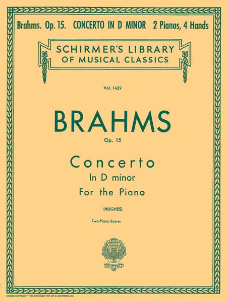 Concerto No. 1 in D Minor, Op. 15 (2-piano score)