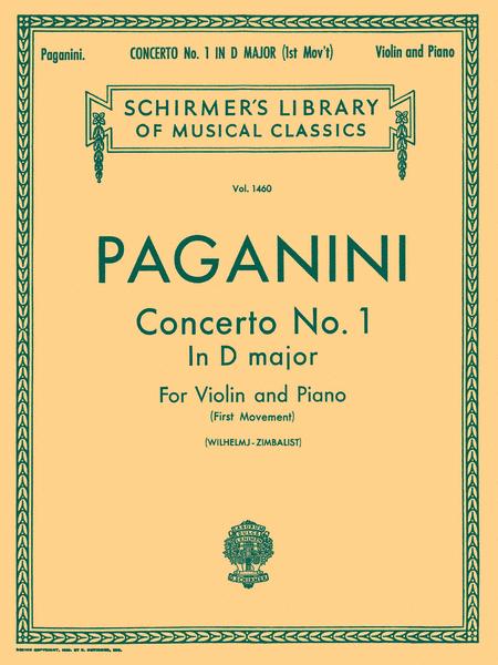 Violin Concerto No. 1 In D Major (First Movement) - Violin/Piano
