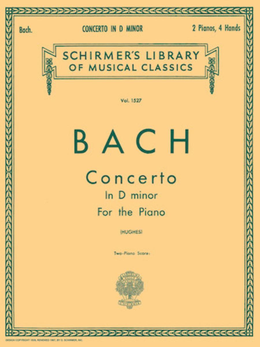 Concerto in D Minor (2-piano score)