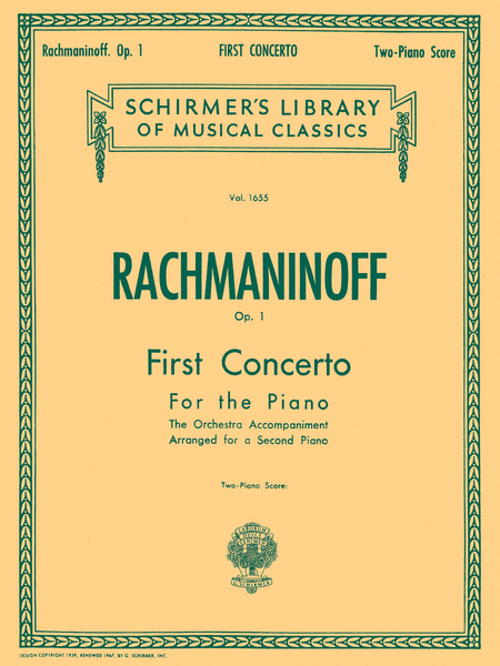 Concerto No. 1 in F# Minor, Op. 1