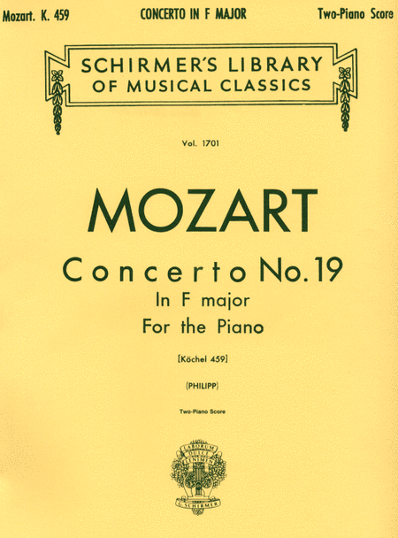 Concerto No. 19 in F, K.459