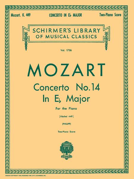 Concerto No. 14 in Eb, K.449