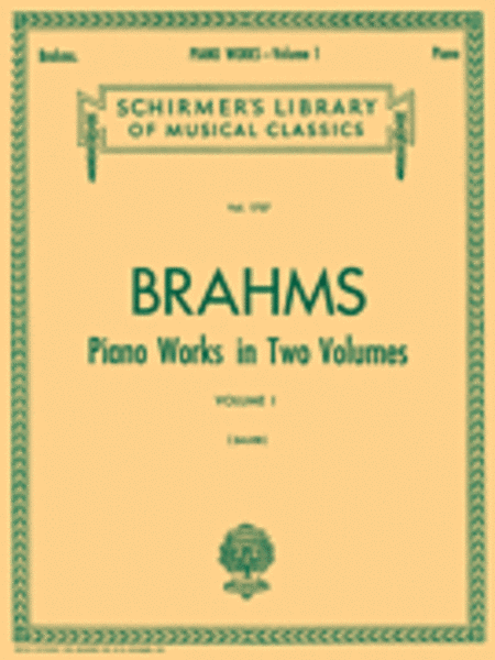 Piano Works - Volume 1