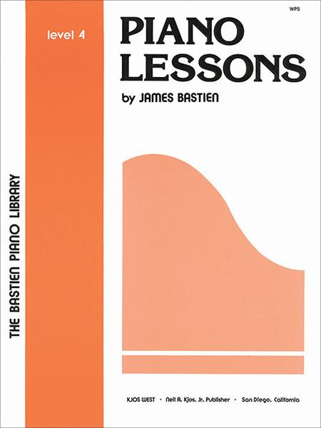 Piano Lessons, Level 4
