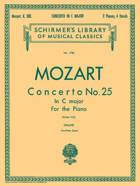 Piano Concerto No. 25 In C Major, K. 503