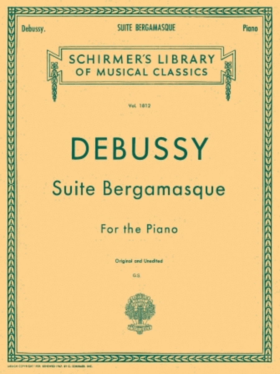 Suite Bergamasque for Piano
