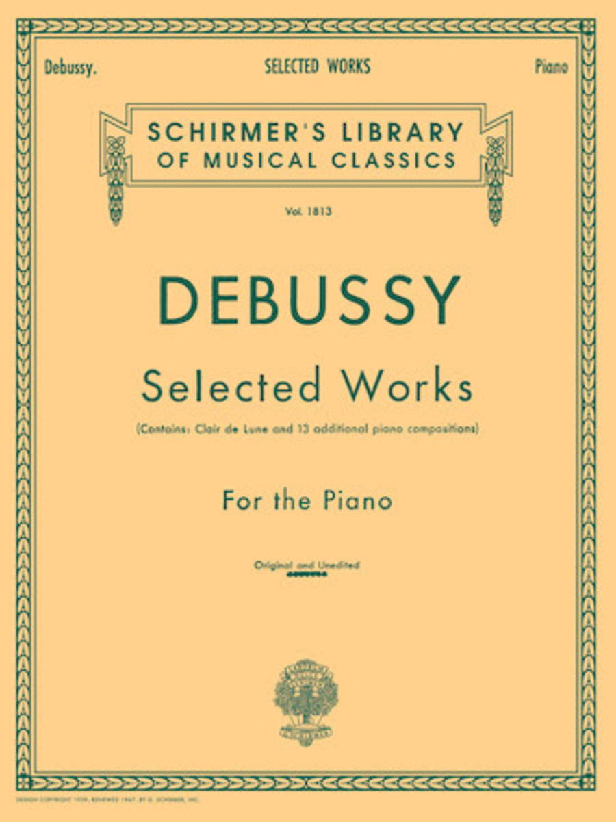 Selected Works for Piano