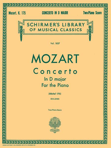 Concerto No. 5 in D, K.175
