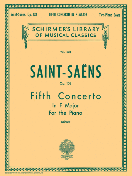 Concerto No. 5 in F, Op. 103