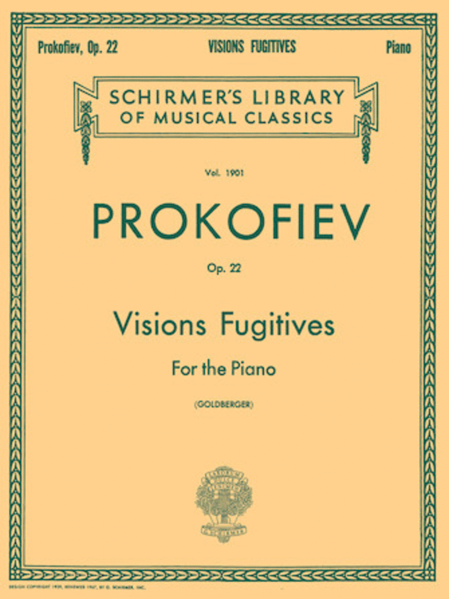 Visions Fugitives, Op. 22